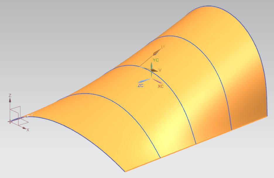 NX Curve Preview