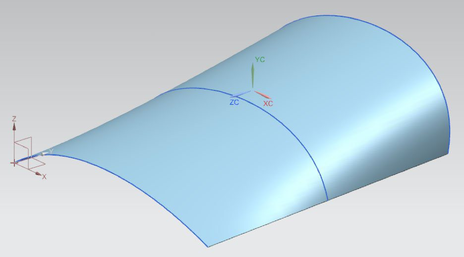 NX Template Spline