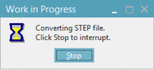 Converting STEP file