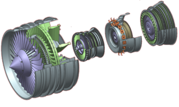 Aerospace and Defense Siemens NX Exploded View