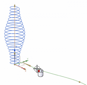create a helix in nx cad