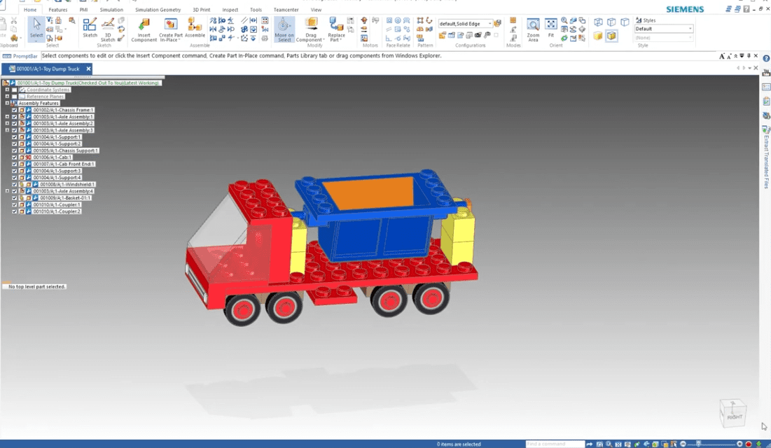Extracting Assemblies from Teamcenter in NX and Solid Edge