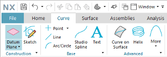 Create a Tangent Plane in NX