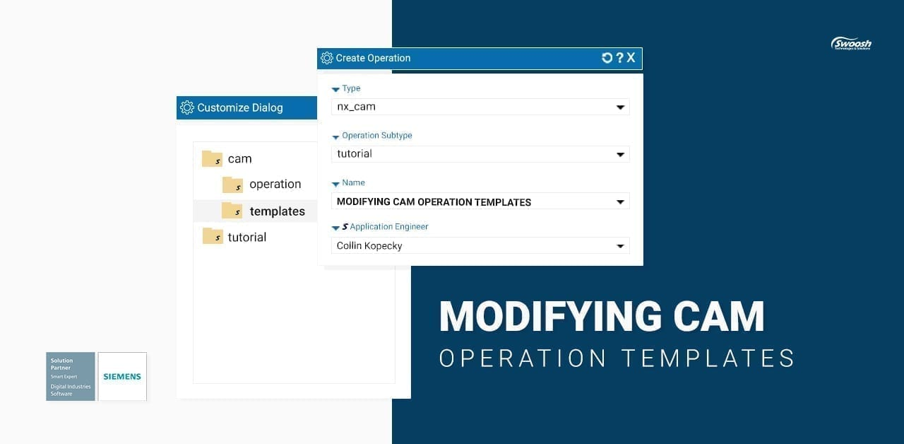 Modifying CAM Operation Templates