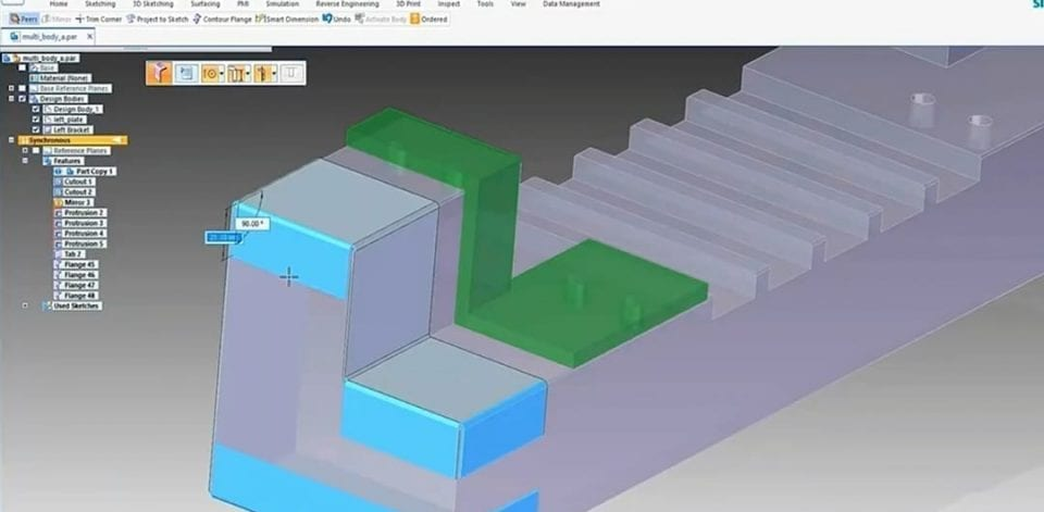 Sheet Metal Components Solidedge